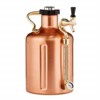 GrowlerWerks uKeg™ 128 stainless steel - 3.8 l (Kobber)